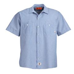 DKILS535-BLS-M - DickiesMens Short Sleeve Industrial Work Shirt