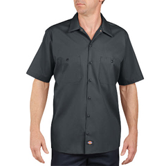 DKILS535-CH-S - DickiesMens Short Sleeve Industrial Work Shirt