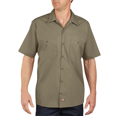 DKILS535-DS-L - DickiesMens Short Sleeve Industrial Work Shirt