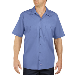 DKILS535-LW-2T - DickiesMens Short Sleeve Industrial Work Shirt