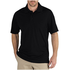 DKILS951-BK-3X - DickiesMens Short Sleeve Tactical Pique Polo Shirts