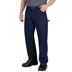 DKILU200-RNB-36-34 - DickiesMens Industrial Carpenter Jeans