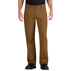 DKILU239-RBD-36-30 - DickiesMens Industrial Relaxed-Fit Straight-Leg Carpenter Duck Jeans