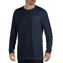 DKISL500-DN-XL - DickiesMens Long Sleeve Dri Release Tee Shirts