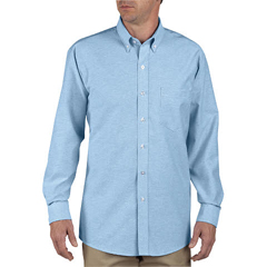 DKISS36-LB-145-RG - DickiesMens Oxford Long Sleeve Shirts