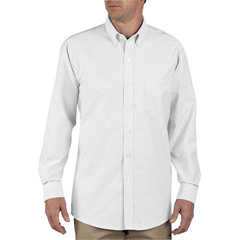 DKISS36-WH-155-RG - DickiesMens Oxford Long Sleeve Shirts