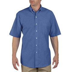 DKISS46-FB-195 - DickiesMens Short Sleeve Oxford Shirts