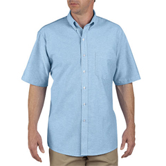 DKISS46-LB-175 - DickiesMens Short Sleeve Oxford Shirts