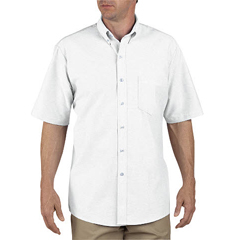 DKISS46-WH-165 - DickiesMens Short Sleeve Oxford Shirts
