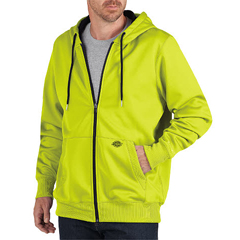DKISW521-EW-XL - DickiesMens Zip Fleece Hooded Jackets