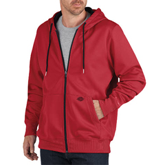 DKISW521-IC-M - DickiesMens Zip Fleece Hooded Jackets