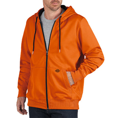 DKISW521-NA-XL - DickiesMens Zip Fleece Hooded Jackets