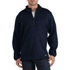 DKISW524-DUH-M - DickiesMens Quarter-Zip Bonded Fleece Jackets