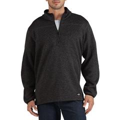 DKISW524-GAH-3X - DickiesMens Quarter-Zip Bonded Fleece Jackets