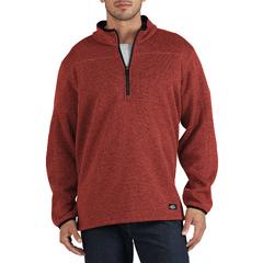 DKISW524-KRH-2X - DickiesMens Quarter-Zip Bonded Fleece Jackets