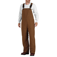 DKITB245-BD-3X-RG - DickiesMens Sanded Duck Insulated Bib Overalls