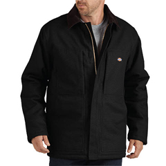 DKITC845-BK-3X - DickiesMens Sanded Duck Insulated Coats