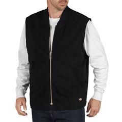 DKITE240-RBK-M - DickiesMens Sanded Duck Lined Vests