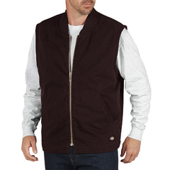 DKITE240-RCB-XL - DickiesMens Sanded Duck Lined Vests
