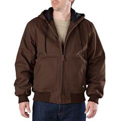 DKITJ245-TB-L - DickiesMens Sanded Duck Hooded Jackets