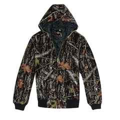 DKITJ270-CNC-2X - DickiesMens Sanded Duck Insulated Hooded Jackets