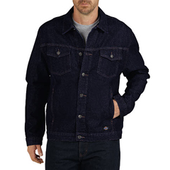DKITJ630-RNB-XL - DickiesMens Denim Tucker Jackets