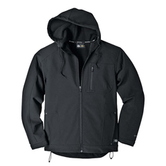 DKITJ713-BK-2X - DickiesMens Softshell Hooded Jackets