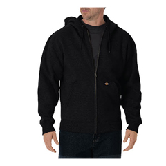 DKITW368-ALBK-M - DickiesMens Lightweight Fleece Hoodie