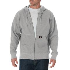 DKITW368-HG-L - DickiesMens Lightweight Fleece Hoodie