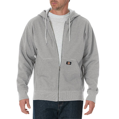 DKITW368-HG-S - DickiesMens Lightweight Fleece Hoodie