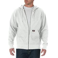 DKITW368-WH-M - DickiesMens Lightweight Fleece Hoodie