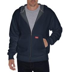 DKITW382-DN-L - DickiesMens Lined Front Zip Fleece Hoodie