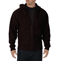 DKITW391-CB-L-TL - DickiesMens Midweight Zip Hoodie Jackets