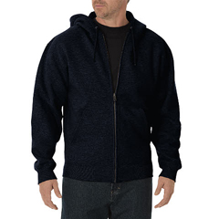 DKITW391-DN-XL-RG - DickiesMens Midweight Zip Hoodie Jackets