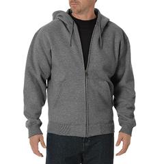 DKITW391-HG-3X-RG - DickiesMens Midweight Zip Hoodie Jackets