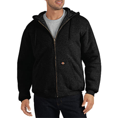 DKITW394-BK-M - DickiesMens Quilted Fleece Jackets