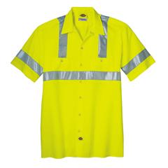 DKIVS100-AY-2X - DickiesMens Hi-Visibility ANSI Work Shirts