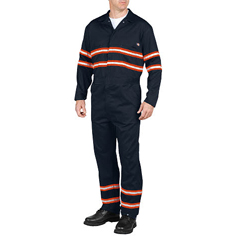 DKIVV601-DN-4X-RG - DickiesMens Enhanced Visibility Coveralls