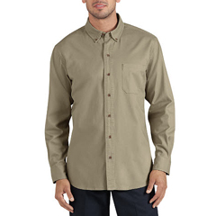 DKIWL624-RDS-2X - DickiesMens Long Sleeve Cotton Twill Work Shirts