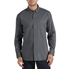 DKIWL624-RGA-L - DickiesMens Long Sleeve Cotton Twill Work Shirts