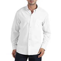 DKIWL625-RWH-2X - DickiesMens Long Sleeve Oxford Work Shirts