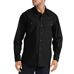 DKIWL634-RBK-L - DickiesMens Long Sleeve Canvas Shirts
