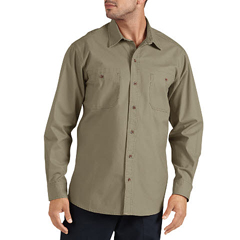 DKIWL634-RDS-3X - DickiesMens Long Sleeve Canvas Shirts