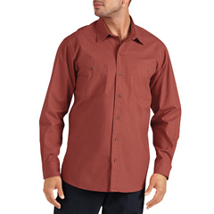 DKIWL634-RKR-L - DickiesMens Long Sleeve Canvas Shirts