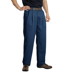 DKIWP114-DN-32-30 - DickiesMens Pleat-Front Pant