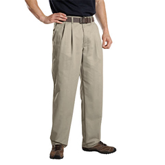 DKIWP114-KH-38-34 - DickiesMens Pleat-Front Pant