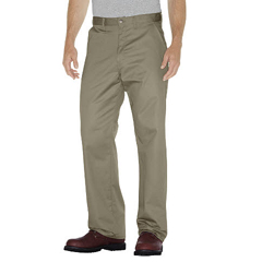 DKIWP314-KH-46-32 - DickiesMens Flat-Front Cotton Pant