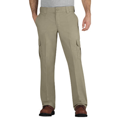 DKIWP595-DS-32-34 - DickiesMens Regular-Fit Mechanic Straight-Leg Cargo Pants