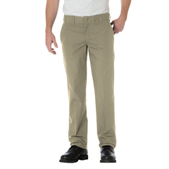 DKIWP805-DS-38-34 - DickiesMens Slim-Fit Straight-Leg Pants