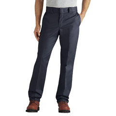 DKIWP833-DN-34-32 - DickiesMens Regular-Fit Tapered-Leg Ringspun Work Pants